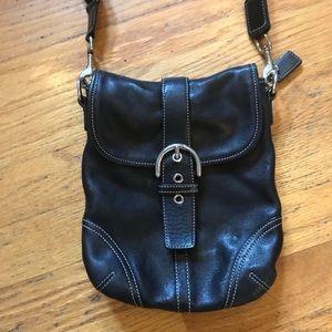 Coach Small Leather Crossbody Bag